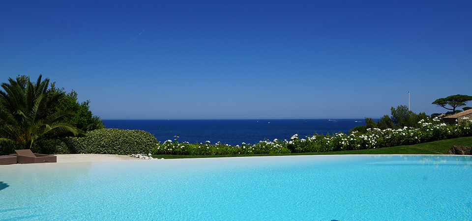 SAINT TROPEZ - Villa with outstanding sea view