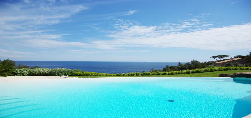 SAINT TROPEZ - Villa avec extraordinaire vue mer
