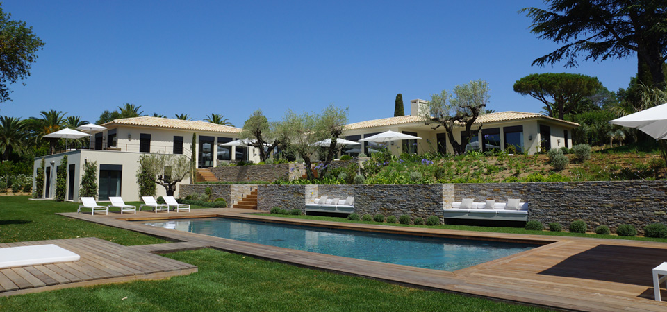 SAINT TROPEZ - Outstanding contemporary property