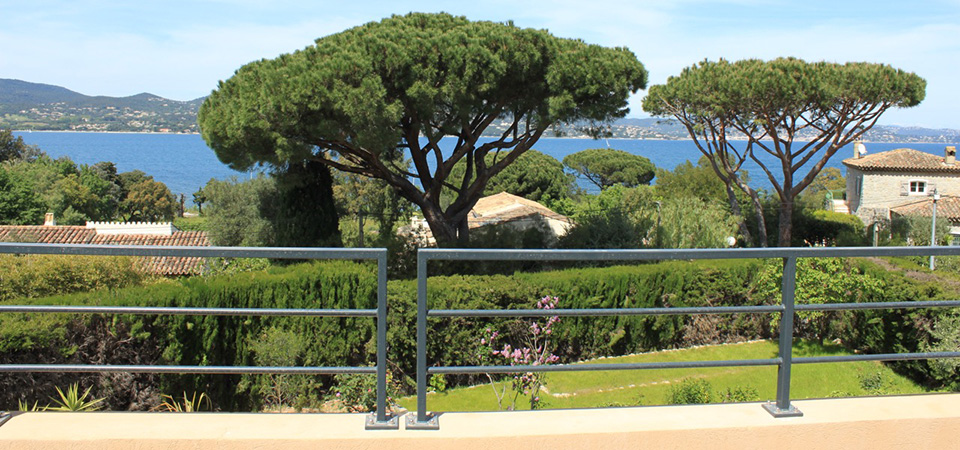 GASSIN - Villa contemporaine avec vue mer