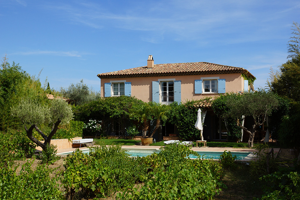 GRIMAUD - Ravissante villa provençale