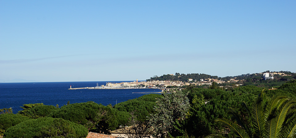 Proche St Tropez - Villa avec superbe vue mer