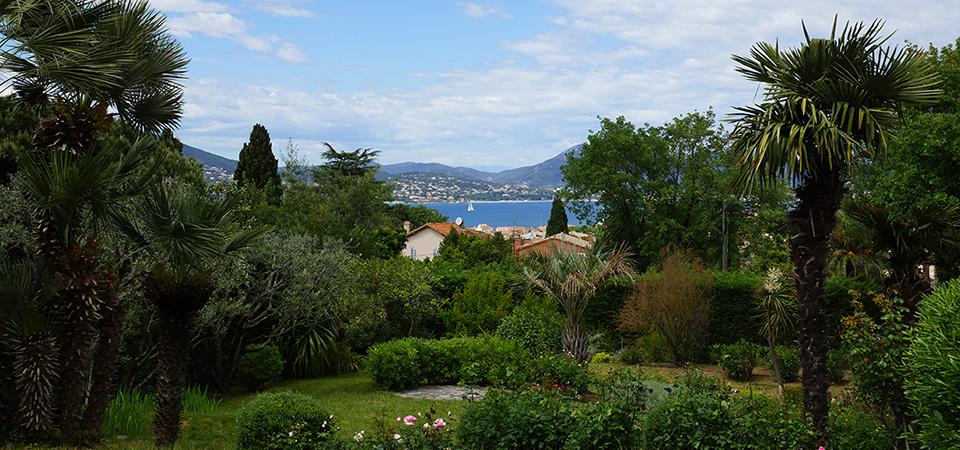 SAINT TROPEZ - Villa ave vue mer à Ste Anne