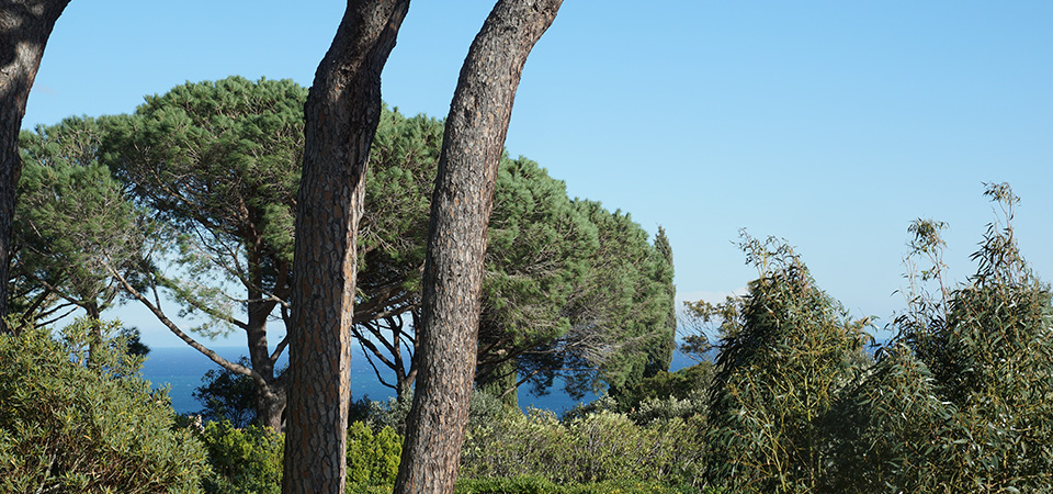 RAMATUELLE - Semi detached house with sea view